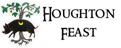 The Houghton Feast Crest is a wild boar - not an ox as some people mistakingly think